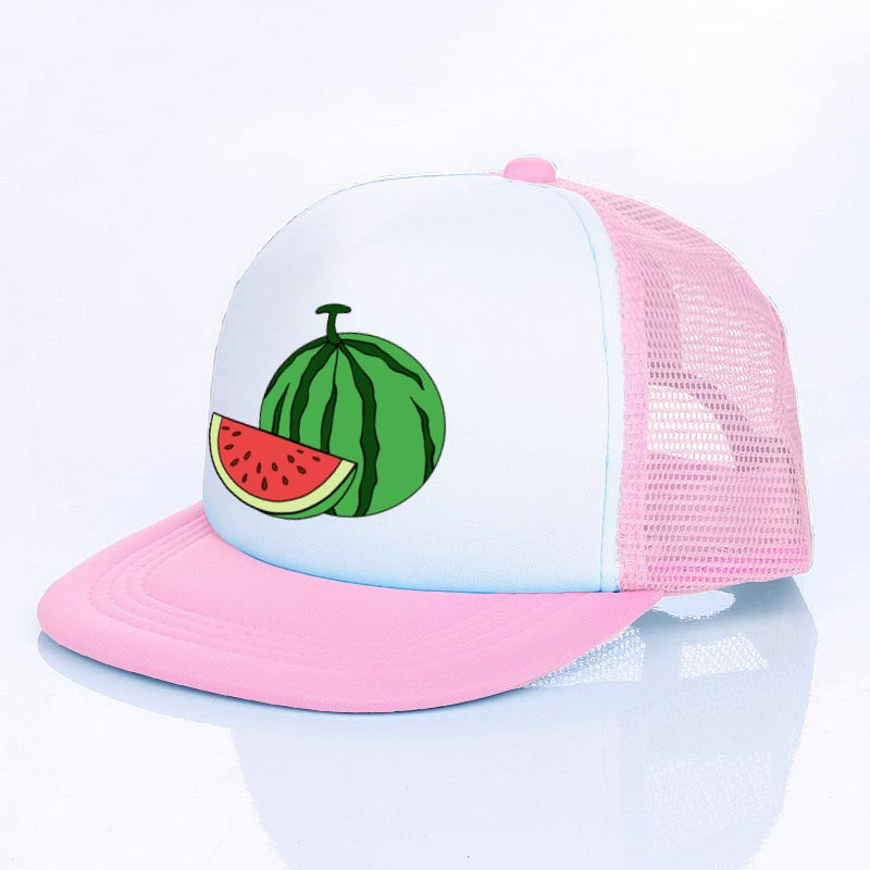 Aloha Pink Baseball Cap Men Women Watermelon Hip Hop