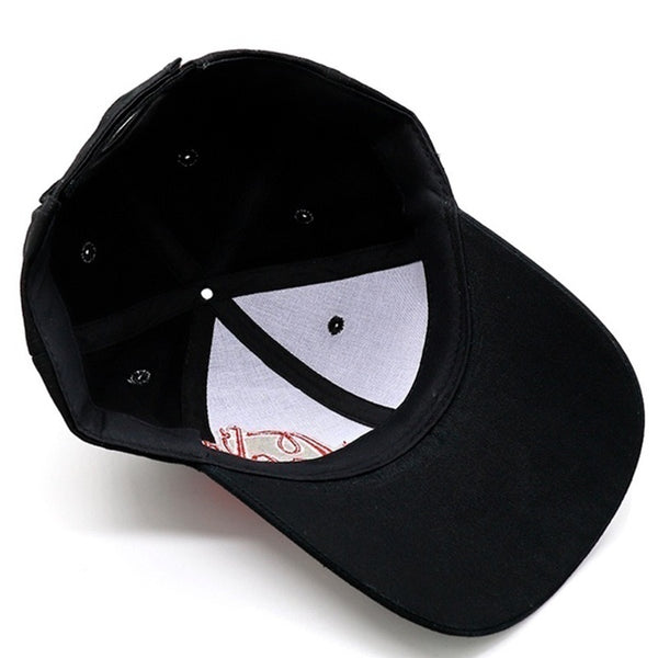 Baseball cap unisex letter embroidery dad hat golf outdoor sports sunscreen caps