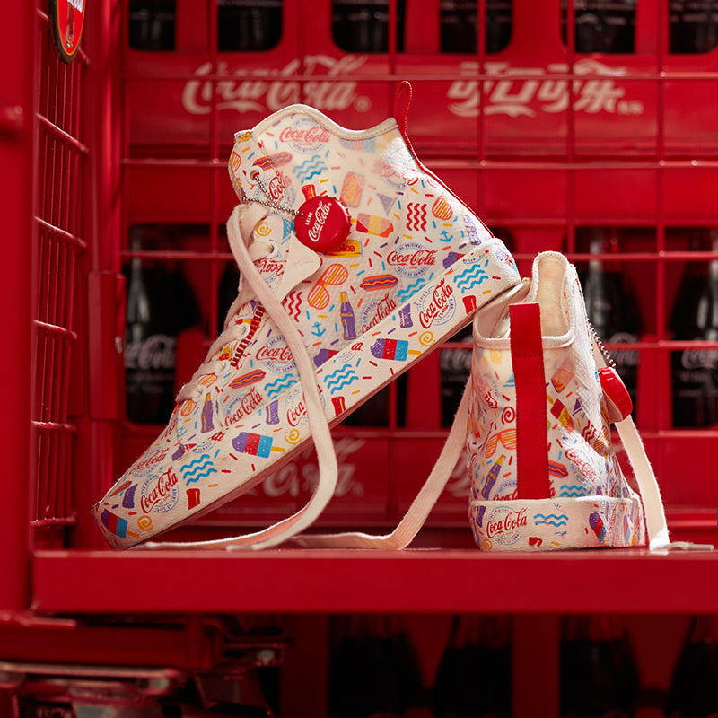 2020 Anta dominates Coca-Cola co-brand edifying men's and women's shoes new official website flagship fashion trend sports shoes