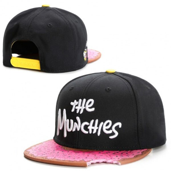 Snacks pink snapback hat men women adult hip hop Headwear