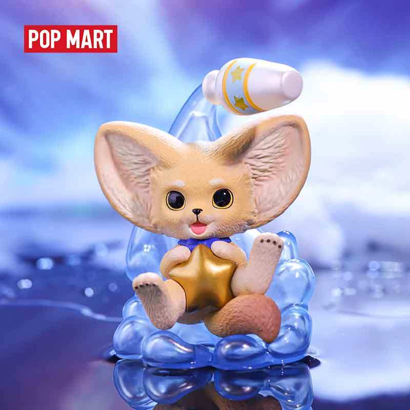 POP MART YOYO the kenneth fox Zodiac series Toys figure blind box birthday gift animal story toys figures free shipping