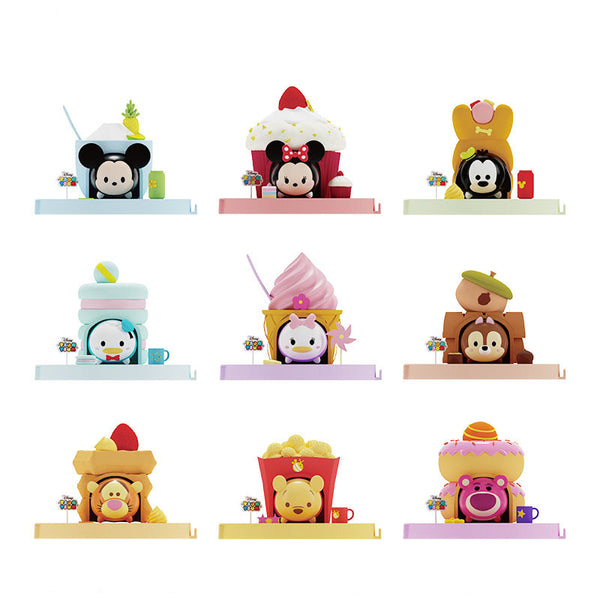 Random 1pcs Disney Action Figure Blind Box Tsum Mini Doll Peripherals Decoration Mickey Mouse Cake Decoration Toy Gift For Girls