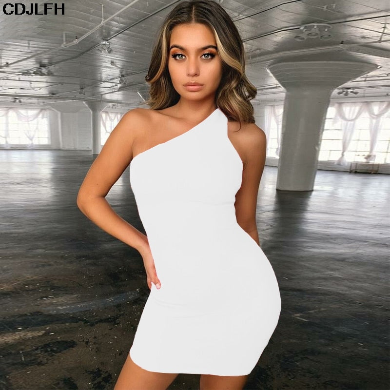 Nightclub Dress Bodycon Mini Sundress Elegant Party Vestidos