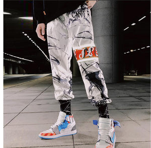 2020 New Loose Joggers Sweatpants Men Ankle Length Trousers