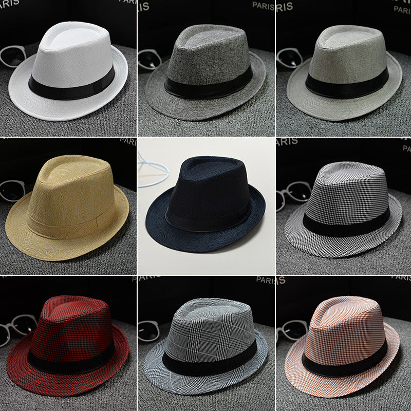 Summer Men Hat Straw men's cowboy hats cap