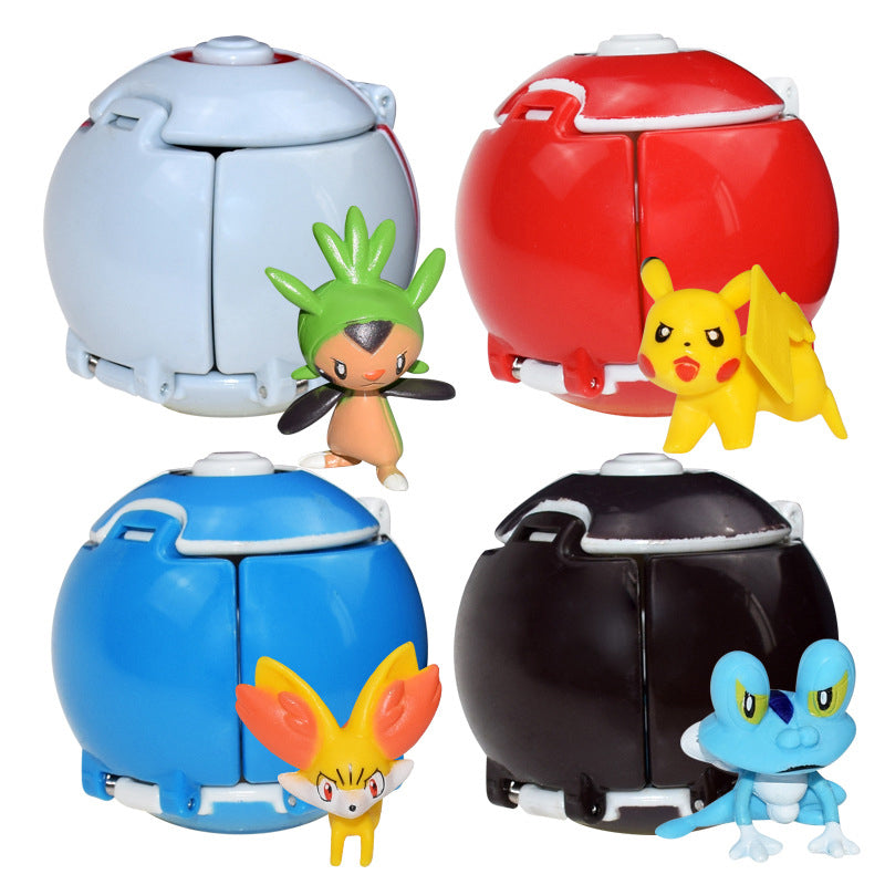 Takara Tomy Pokemon Pocket Monsters explosion Ball Blind Box Figurine Model Decoration Accessories Toys educational Gift for Kid