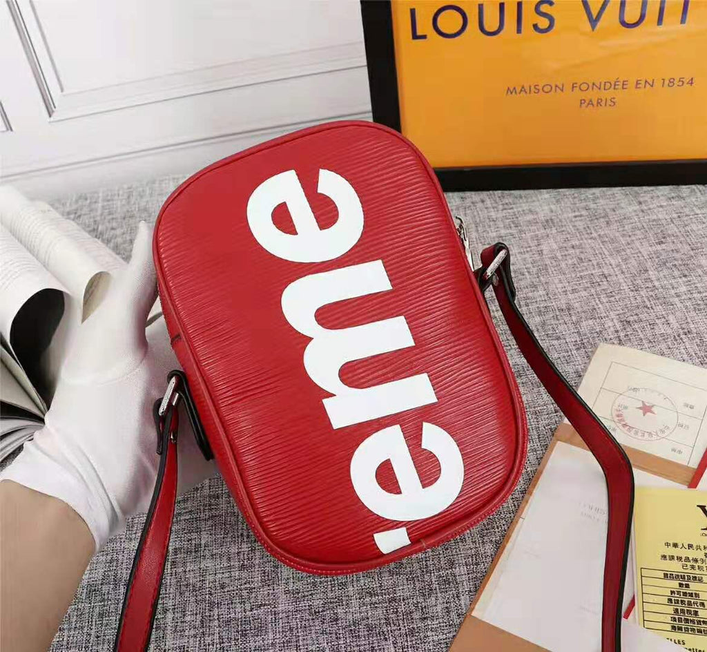Louis Vuitton x Supreme Bag Red