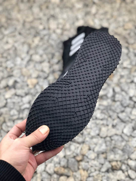 adidas AlphaEDGE 4D vertical knit breathable face slipper leisure sports jogging shoes