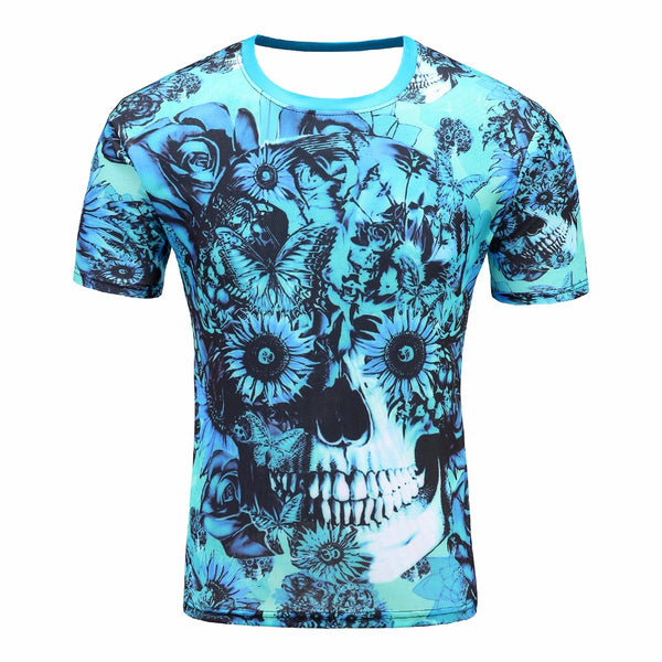 3d print New Product Men's Fashion Summer 3D Big Hand Print Round Neck Short Sleeve Milk Poured Pattern Inverted Milk T shirt