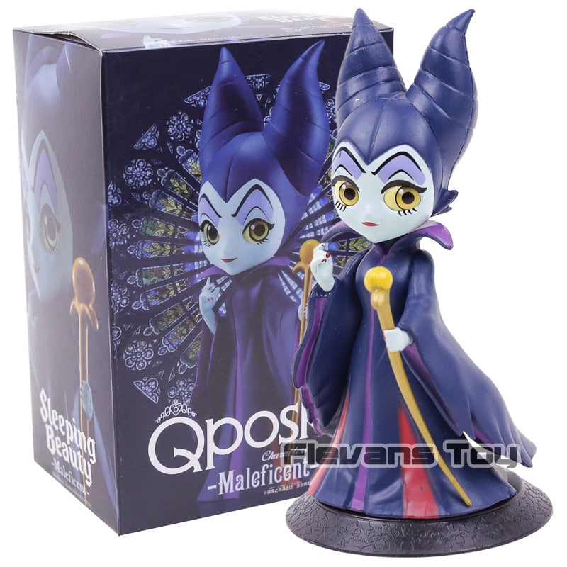 Maleficent Q Posket Characters Dolls Q Version PVC Figure Toy Figurine Collection Model