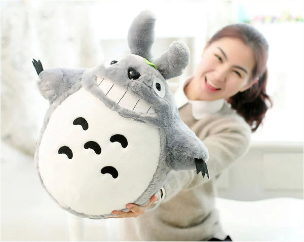 Hot Sale 60CM Famous Cartoon Totoro Plush Toys Smiling Soft Stuffed Toys High Quality Dolls Factory Price In Stock