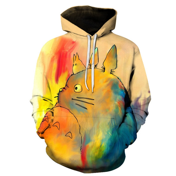 My Neighbor Totoro Anime Cartoon Casual 3D Print