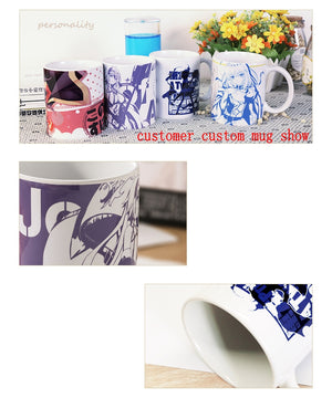 Anime JK BEATLESS Type-005 Lacia Cosplay Mug Ceramic Daily Drink Mark Cup Gift