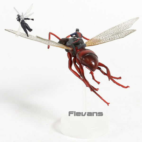 Hot Toys Marvel Antman Ant-Man On Flying Ant & The Wasp PVC Figure Collectible Model Toy