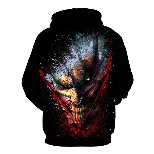 New Cool Joker  3d print sweatshirt fashion
