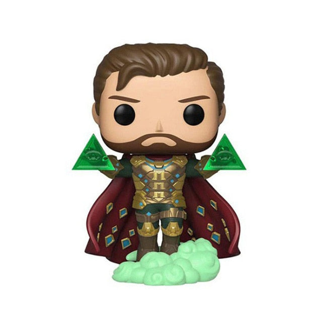 Funko Pop Marvel Spider-Man Mysterio Vinyl Figure Dolls Toy Action Figure Toys Birthday Christmas Gifts for Kids