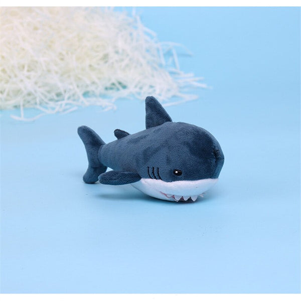 15cm Cute Soft Keychain Bite Shark Plush Toy Girls Gifts Hot Appease Plush Key Ring Toys Stuffed Plush Toys for Adults & Kids