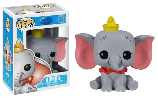 FUNKO POP Cute DUMBO Vinyl Dolls Action Figures Collection Model Toys PVC Cartoon for Children Birthday Christmas Gift