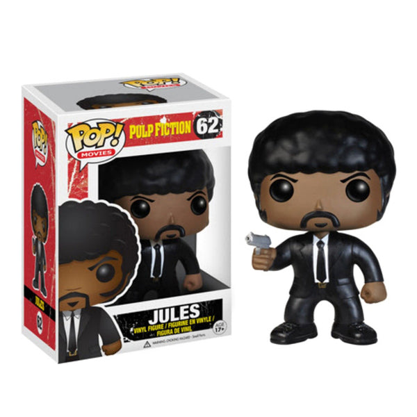 NEW!! Funko POP Pulp Fiction Jules Vincent Vega Jimmie  Vinyl Action Figures brinquedos Collection Model Toys
