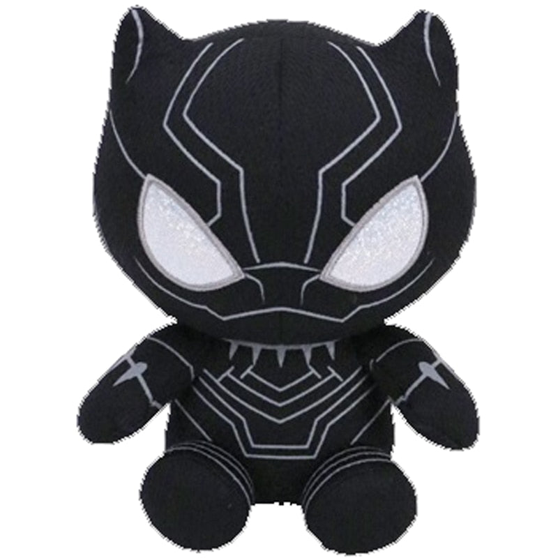 Ty Beanie Stuffed & Plush Marvel Super Hero Black Panther Toy 15cm