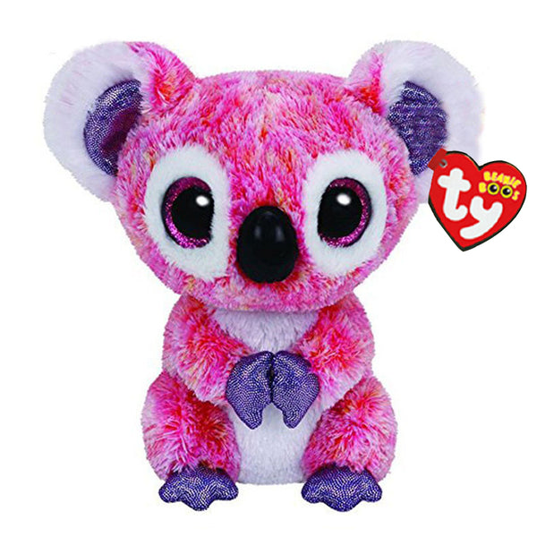 Ty Stuffed & Plush Animals Kacey the Pink Koala Toy 15cm