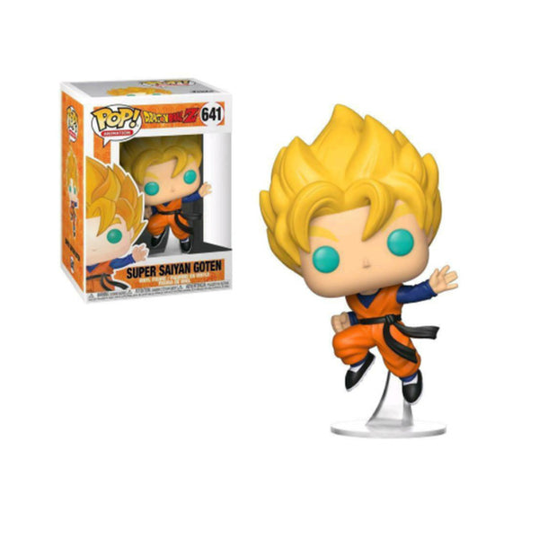 FUNKO  pop DRAGON BALL   SUPER SAIYAN GOTEN Model Figure Collectible Model Toy for gift