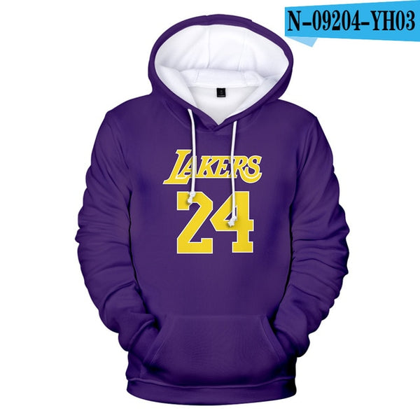 New Kobe Bean Bryant Hoodies Men/Women Popular Kobe Bean Bryant sweatshirt Hoodies boy girl streetwear clothes Hip Hop Tops