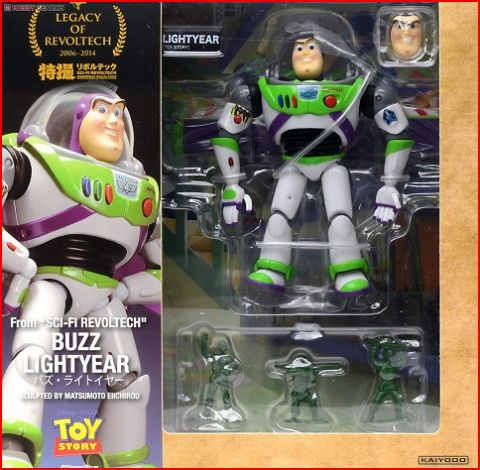 Disney Toy Story 4 Buzz Lightyear NO.011 Sci-Fi Revoltech Action Figure Models Toy Story Woody Buzz Lightyear Kid Christmas Gift