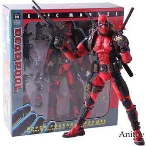 NECA Epic Marvel Deadpool Ultimate Collector's 1/10 Scale Action Figure PVC Collectible Model Toy