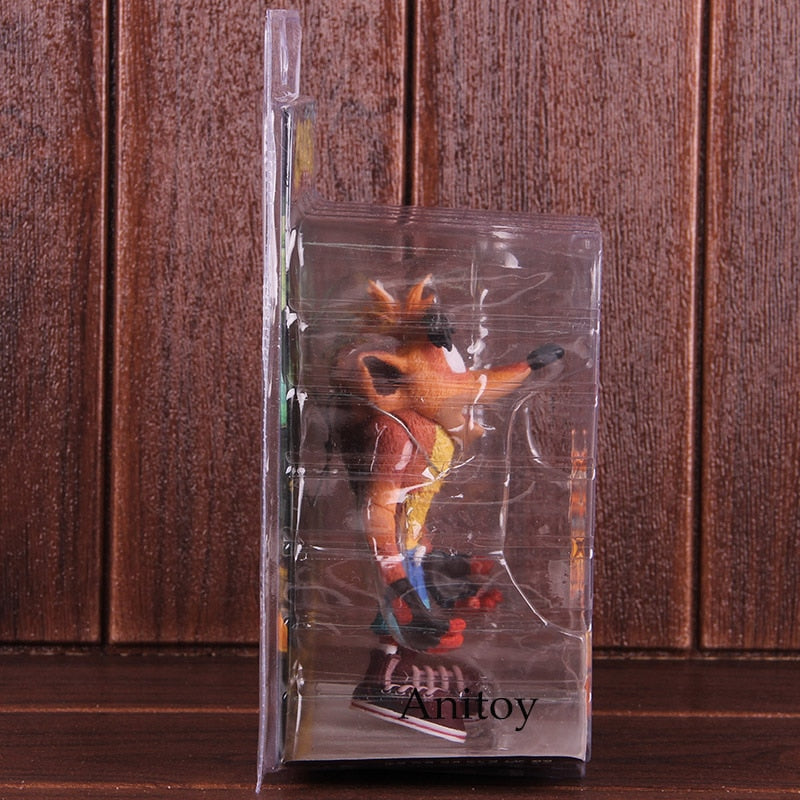 NECA Crash Bandicoot PVC Movable Action Figure Collectible Model Toy