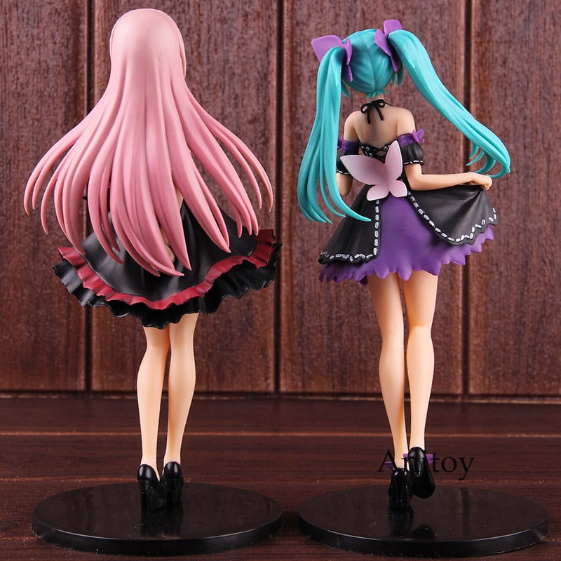 Project DIVA Arcade Future Tone Action Figure Hatsune Miku / Megurine Luka Innocent Amour Ver. PVC Collectible Model Toy
