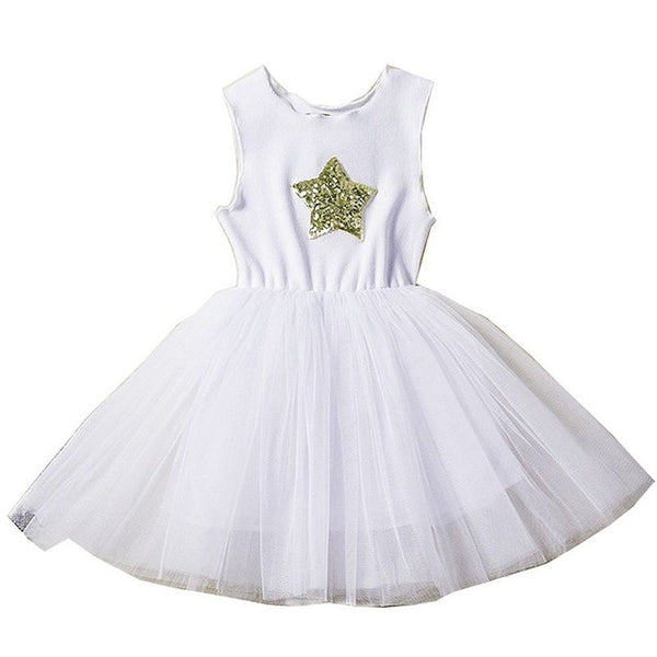 Kids Party Dresses for Girls Clothes Unicorn Lace Tutu Dress Princess Vestido Elegant Baby Girls Dress For Wedding Ball Gown