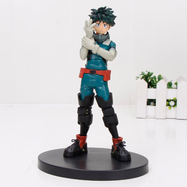 My Hero Academia DXF Figure Midoriya Izuku Bakugou Katsuki Boku no Hero Academia Collection Model Figurals Toy Gift 15cm