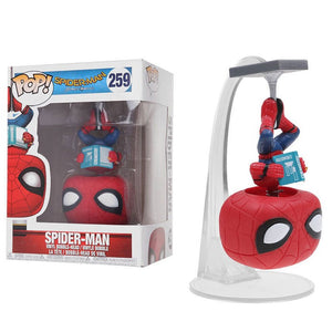 FUNKO POP Spider-man Vinyl Doll Marvel Homecoming Action Figures Collection Model Car Decoration Figure Toys