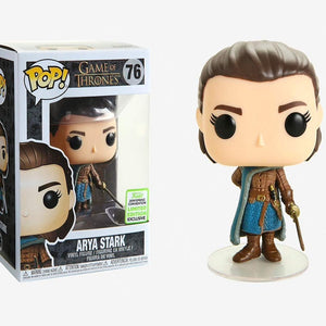 FUNKO POP 2019 Game of Thrones ARYA STARK 76# PVC Action Figure Collection Model Gift Toys for Children New Arrival Vinyl Dolls