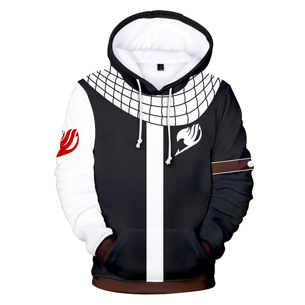 Aikooki Anime Fairy Tail 3D Hoodies Men/Women Casual Sweatshirts New Style 3D Print Fairy Tail Hoodies Boys/Girls Sweatshirt XXS