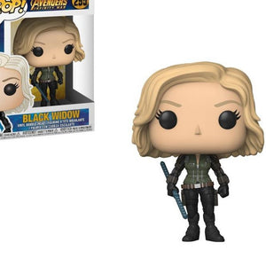 FUNKO POP The Avenger Black Widow Vinyl Dolls Action Figure Collection Model Figure Toys for Children Birthday Gifts Decoration
