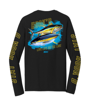 Hook'd Tuna Long Sleeve T-Shirt