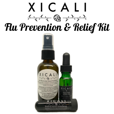 Flu Prevention & Relief Kit