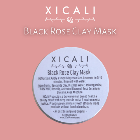 Black Rose Clay Mask