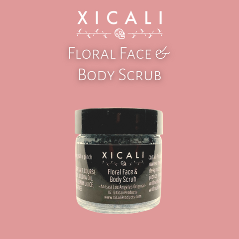 Floral Face &  Body Scrub