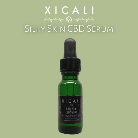 Silky Skin Cannabis Face Serum