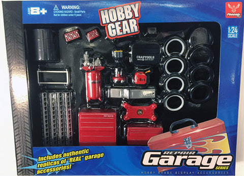 1.24 Scale Repair Garage Accessory Set