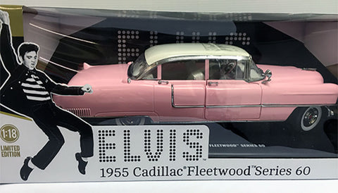 Elvis 1955 Cadillac Fleetwood 1.18 Model
