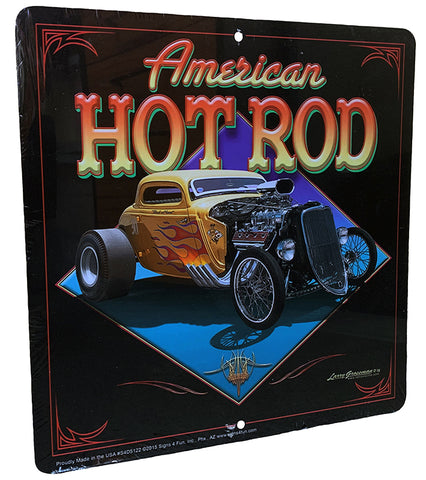 American Hot Rod Sign
