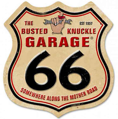 The Busted Knuckle Garage Shield