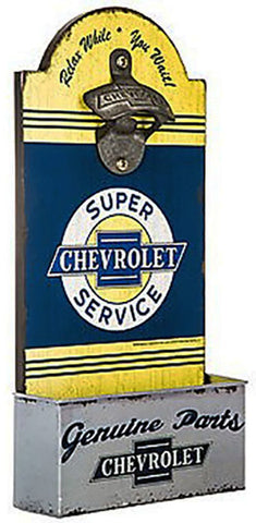 Chevrolet Bottle Opener Wall Decor