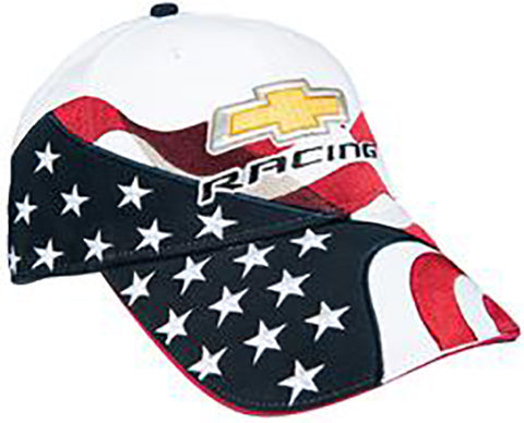 Chevy Racing USA Flag Cap