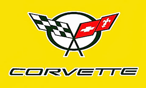 Corvette Yellow Flag