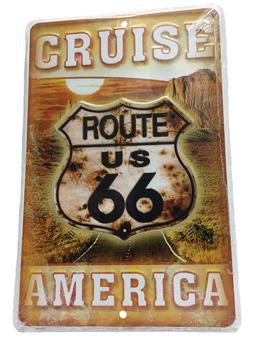 Cruise America Parking Sign